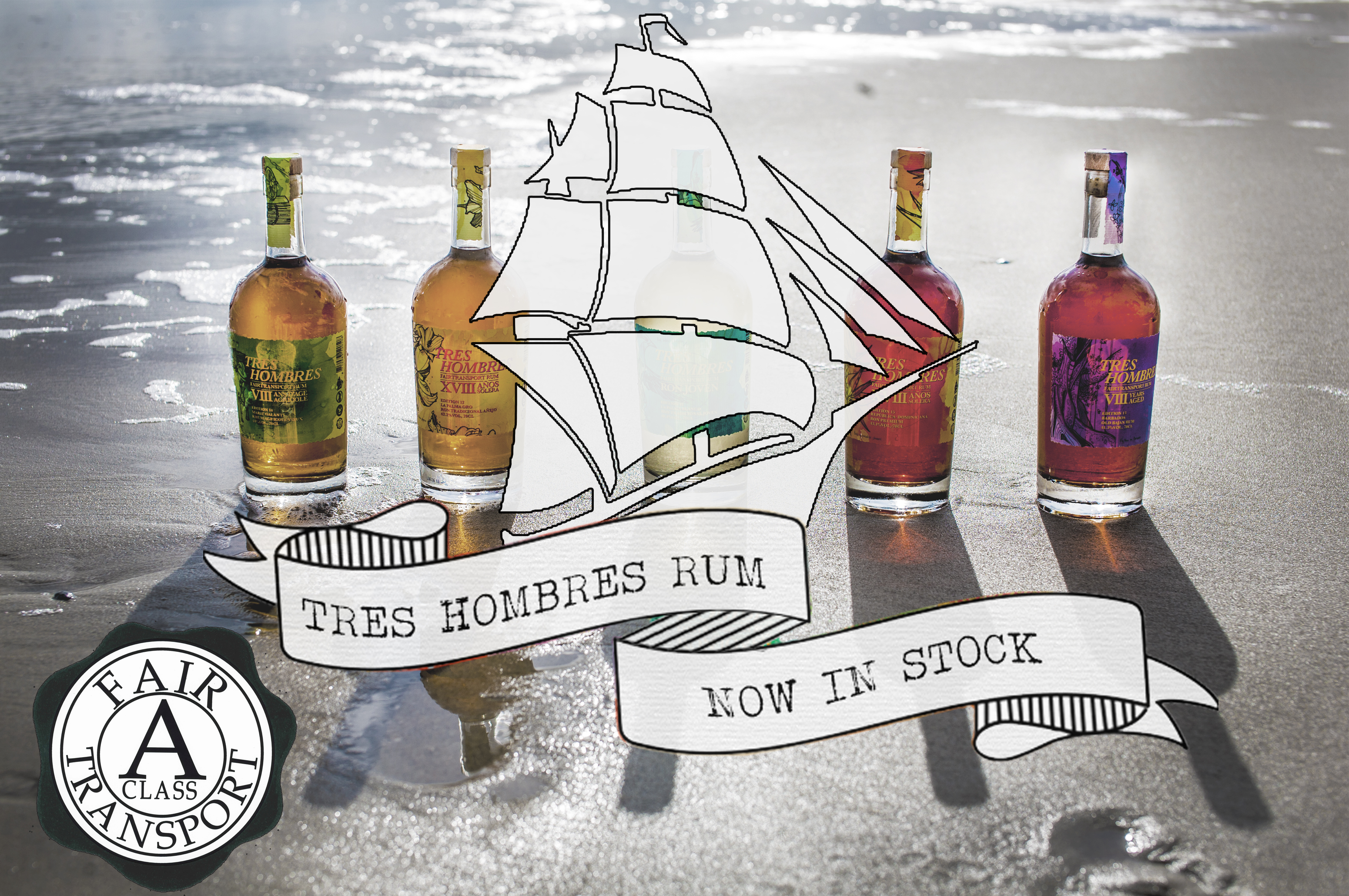 Tres Hombres Rum Now Available 2016